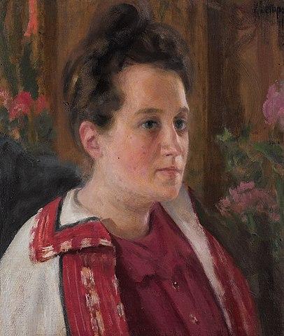Yulia Ivanovna Kazarina (1900)