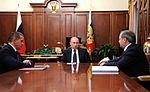 Yuri Trutnev, Vladimir Putin and Vladimir Puchkov 10 October 2013.jpeg