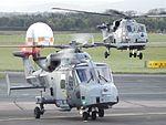 ZZ383-ZZ384 Lynx Wildcats Helicopters (30211198342).jpg