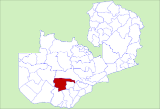 Namwala District District in Southern Province, Zambia