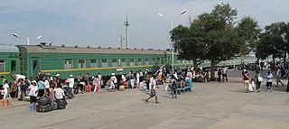 Rail transport in Mongolia