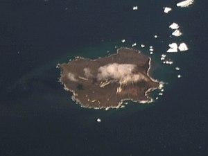 Zavodovski Island - NASA image of Zavodovski Island