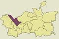 Zawiercie Borowe Pole location map.png