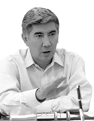 Kazakh presidential election, 2005 - Image: Zharmakhan Tuyakbay