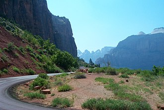 Utah State Route 9 - The Zion-Mount Carmel Highway.