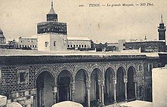 Al-Zaytuna Mosque - Image: Zitouna 1880