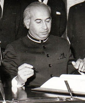 Periods of stagflation in Pakistan - Bhutto authorised the nationalization to tackle down the stagflation with full force.