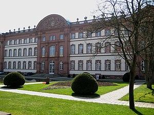 Ludwig Wenzel Lachnith - Zweibrücken Castle back (Modern view)