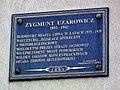 Zygmunt Uzarowicz plaque in Lipno.jpg