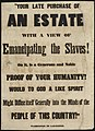 """""""Your late purchase of an estate with a view of emancipating the slaves! On it, is a generous and noble proof of your humanity! Would to God a like spirit might diffuse itself generally into the minds of the people of this country!"""" - 7.jpg"""