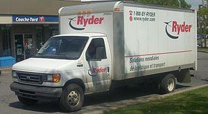 Ryder - A 2003-07 Ryder Ford E-450