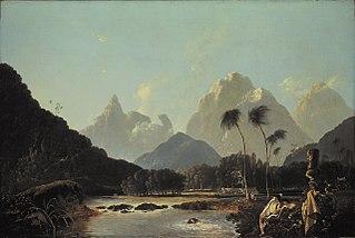 'A View taken in the bay of Oaite Peha [Vaitepiha] Otaheite [Tahiti]' ('Tahiti Revisited')