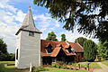 'Church of St Andrew' Greensted, Ongar, Essex England - from the south-west.JPG
