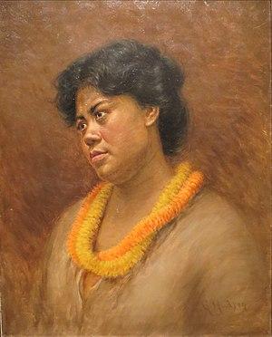 Hapa - Hapa Haole (No. 206) by Grace Hudson, 1901