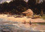 'Hawaiian Fishing Camp' by D. Howard Hitchcock, 1913.JPG