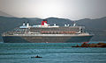 'Queen Mary 2', Wellington, New Zealand, 26th. Feb. 2011 - Flickr - PhillipC.jpg