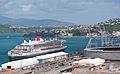 'Queen Mary 2', Wellington, New Zealand, 26th. Feb. 2011 - Flickr - PhillipC (4).jpg