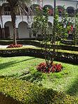(Iglesia de San Francisco, Quito) Convento pic.ab18 interior courtyard.JPG