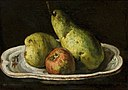 Édouard Manet (attributed to) - Still life with pears and apple.jpg
