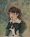 Édouard Manet - Young Girl on a Bench (Fillette sur un banc) - BF162 - Barnes Foundation.jpg