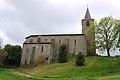 Église Saint-Abdon-et-Saint-Sennen de Labéjan - Façade nord 2.jpg