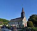 Église Saint-Désir de Fierville-les-Parcs. Vue nord-ouest.jpg