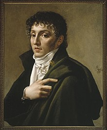 Méhul in 1799, portrait by Antoine Gros. (Source: Wikimedia)