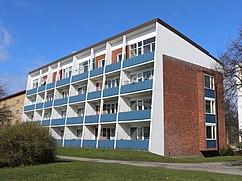 Edificio de viviendas en Östra Sorgenfri , Malmö (1952-1953), junto con Sten Samuelson
