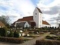 Ørslev Kirke og Kloster set fra nordvest.jpg