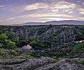 Весняний вечір в каньоні річки Мертвовод 1.jpg