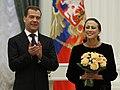Дмитрий Медведев и Майя Плисецкая.jpg