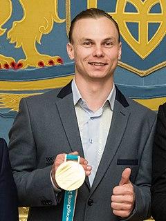 Oleksandr Abramenko Ukrainian freestyle skier