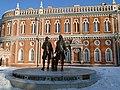 Памятник В.И. Баженову и М. Ф. Казакову - panoramio.jpg