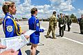 Президент Петро Порошенко на церемонії випуску Харківського університету Повітряних Сил ім. Івана Кожедуба (27263909084).jpg