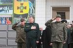 Президент України Петро Порошенко привітав молодих офіцерів з випуском 2995 (16757394378).jpg