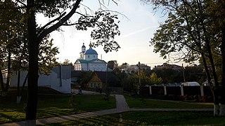 Chashniki Town in Vitebsk, Belarus