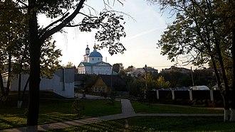 Chashniki - Image: Чашнікі. Спаса Праабражэнская царква (04)