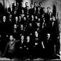 הרצל והפרקציה הדמוקרטית בקונגרס הציוני החמישי בבזל 1901. מתוך אוסף צנציפר-PHG-1002720.png