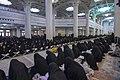 عکس های مراسم ترتیل خوانی یا جزء خوانی یا قرائت قرآن در ایام ماه رمضان در حرم فاطمه معصومه در شهر قم 48.jpg