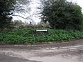 -2020-01-25 Street name sign, Gunthorpe Lane, Trunch.JPG