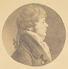 -Mezzotint portrait of a Young Man in Profile, from The St. Memin Collection of Portraits- MET DP116721.jpg