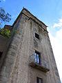 002 Sant Jeroni de la Murtra, torre prioral, façana oest.JPG