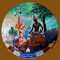 012 Sakka gives 10 Boons to Phusati, one of which is to be Mother of Vessantara (9273686552).jpg