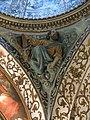 047 Església de Santa Maria (Salomó), capella del Sant Crist, l'evangelista Sant Lluc.jpg