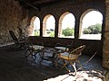 067 Castell de Púbol (Casa Museu Gala Dalí), eixida.jpg