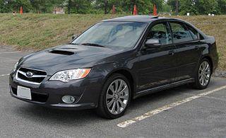 Subaru Legacy (fourth generation) Motor vehicle