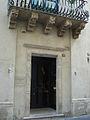 0842 - Taormina - Balcone barocco - Foto di G. DallOrto - 9-Sept-2006.jpg