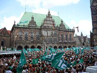 SV Werder Bremen - Werder Bremen won the DFB-Pokal in 2004