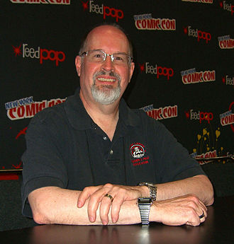 Timothy Zahn - Zahn at the 2012 New York Comic Con.