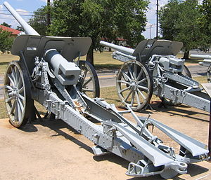10 cm K 17 - A K 17 at the US Army Field Artillery Museum, Ft. Sill, OK